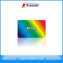 2014 new type cheap holographic business card in plastic