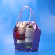 Women transparent fashional pvc bag ladies hand bags