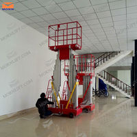 Portable hydraulic lift table for painting
