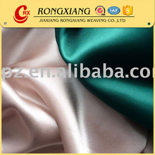 China Manufacturer Designer Woven polyester satin fabric for dress