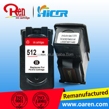PG512 CL513 compatible ink cartridges for Canon 512 513 for Canon MP480 printer