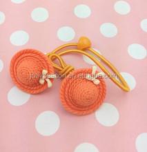 Fashion Elastic Hair Bands Hair Accessories Red Kids Headwear Girls Hair Rope