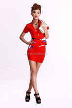 Customize NOBLE FORMAL WORKING OFFICE DRESS STYLE FOR LADIES--CUSTOM MADE UNIFORM