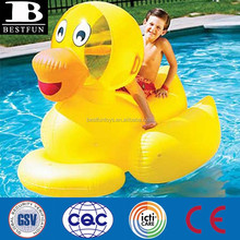 giant rideable ducky inflatable swimming pool float custom made giant animal water toys for pool