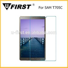 trasporto veloce vetro temperato protezione dello schermo per samsung t705c