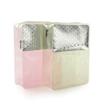PVC Soft Clear Travel Cosmetic Pouch Bag