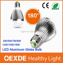 GC-QB01 china great brand 2014 hot sale led bulb lighting daylighting 5w