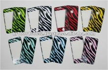 High Quality Anti Fingerprint Screen Protector with Color Pattern for smart phones and tablets