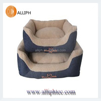 Two-piece Oversized cowboy dog bed washable pet bed