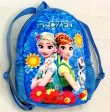 New 2015 frozen fever Children Plush and Cotton Small Backpacks elsa and anna Schoolbags Kid School bags