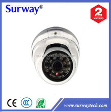 Surway CCTV 1080P AHD Camera 24IR Vandalproof Dome White Case