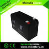 sealed type agm battery 12v9ah rechargeable lead acid storage battery