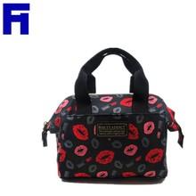 2015 Hot Selling Beautiful Women Tote Bag High Quanlity Floral Print Polyster Ladies Handbag