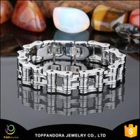 2015 hot sale new design stainless steel bike motorcycle bracelet china chain woven friendship bracelets