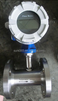 liquid turbine flow meter wafer connection compact/ remote type China explosion