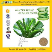 GMP Manufacturer supply 100% Pure Natural Aloe Vera with Aloin 10%-98%