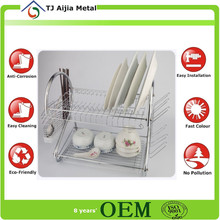 2 Tier Dish Drying Racks for kitchen