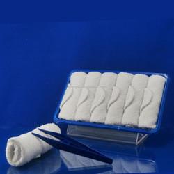 Organic Cotton Face Towel with Tong