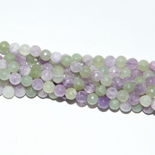 SP3826 Natural High Quality Mixed Color Jade Round Beads For Wholesale