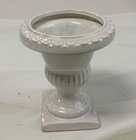 6.9 inch roman style pottery flower pot