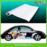 Glossy Self Adhesive solvent Vinyl, car body wrap sticker, car sticker for changing cars body color