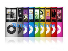 9 colors 1.8inch mp4 player 8GB 4th Gen media player with FM radio video games recorder