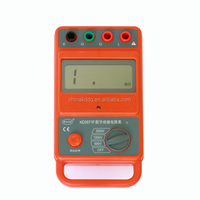 1000V 2500V quality high accuracy megger insulation resistance tester