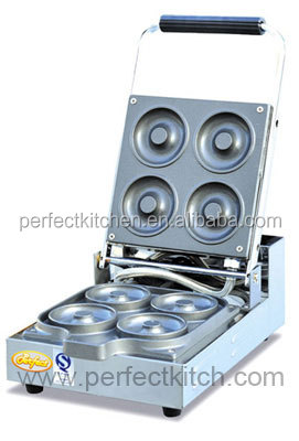 Electric donut machine with sinple plates donut baker for Perfect kitchen equipment