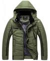 Chaqueta con capucha para hombre ; abrigo de invierno ; con capucha chaqueta ; chaqueta de nylon
