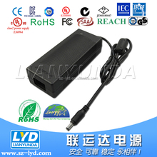 ISO 9001 Power supply with IEC 61347 Certification 24V 5A Power adapter for electric blanket