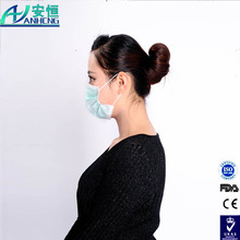 hygiene exported breathing single use ear loop face mask