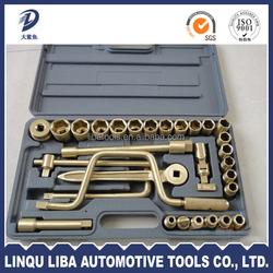 32 piece impact socket car repair tool set pneumatic tools
