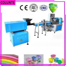 horizonal filling silly putty /plasticine /plastilina/ pakanta masino packing machine