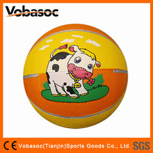 2015 Low Price Best Quality Kids Rubber Basketball
