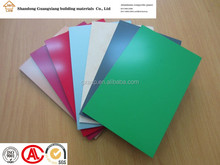 factory 3mm interior decorative material aluminum plastic composite panel waterproof bathroom wall covering panels