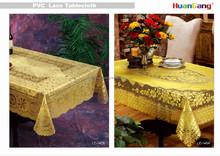 High quality wholesale lace tablecloth/pvc placemat