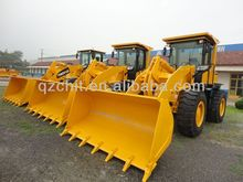 Chinese brand 3000kg wheel loader SAM836 with Cummins engine for sale
