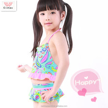 Low Price Custom Tank Top Little Girl Bikini Sets Swimsuit