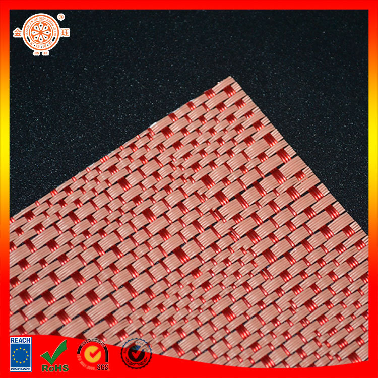 pvc woven rattan floor mat material synthetic rattan raw material by roll dance floor amt gym floor mat swimming pool mat