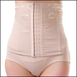 2015 New Style Wholesale Cheap Sexy Slimming Body Shape High Waist Lace Underwear For Sexy Women