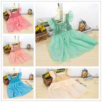 2015 baby girl party dress children frocks designs/frock design for baby girl