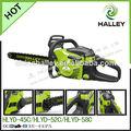 Durable 45cc 1.7kw cadena de sierra para cortar ramas de los árboles