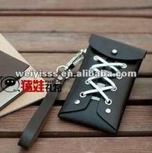 Fashion & Cute Leather bag for Cellphone (Black)