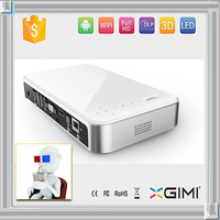 3d Pico led projector built-in bluetooth module high bright 1500 lumen support 5.1wifi