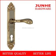 Wenzhou junhe, wood double slided door hardware lock pull handles