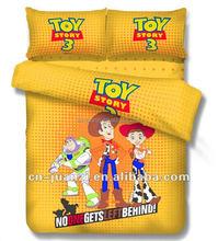 cartoon bedding set children pillowcase/ Microfibre bedding set