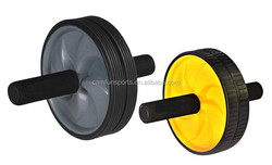 2015 new Ab Roller Wheel Abdominal Exercise Wheel ab wheel 2 small plastic wheels