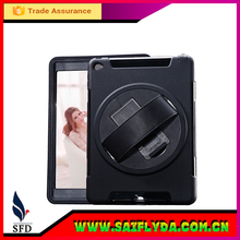 For Ipad Air Case with stand , 360 Degree Rotations leather case for ipad air
