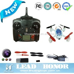 High Quality flying camera Drone 2.4G 6-Axis Gyro Mini RC Quadcopter model RTF Toys