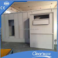 Customiised Powder Coating Booth Room for Thermoplastic Powder Spraying Line for Line